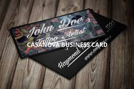 tattoo artist business cards gallery free business cards