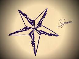 nautical star designs tattoo nautical star design by star tattoo