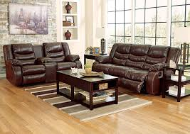 Reclining Sofas And Loveseats Furniture Tx Linebacker Durablend Espresso Reclining