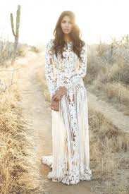 lace white formal dress bohemian on the hunt