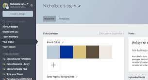 canva color palette ideas how to setup your canva account like a pro think creative collective