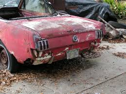 1966 mustang convertible value 1965 mustang convertible rustingmusclecars com