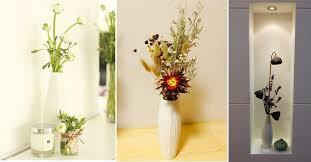 white unglazed ceramic vase ornaments european style and modern