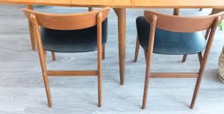 mobilier vintage scandinave 4 chaises vintage chaises scandinaves vintage chaises danoises