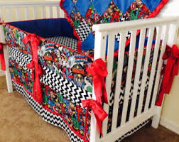 Marvel Bedding Marvel Crib Bedding Etsy