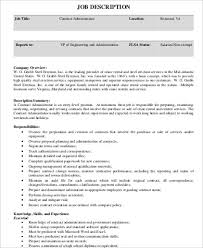 Contractor Resume Sample by Contractor Job Description Create My Resume Best General