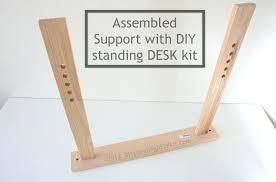 build adjustable table legs adjustable height desk diy diy adjustable height desk legs