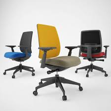 Haworth Chair Haworth Lively Task Chair 3d Model Cgtrader