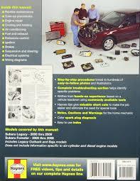 subaru legacy forester automotive repair manual 2000 09 haynes