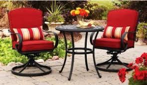Garden Bistro Chair Cushions Better Homes And Gardens Fairglen Cushions Walmart Replacement