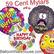 wholesale balloons 59 cent mylars
