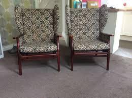 Vintage Settees For Sale Pair Of Vintage Armchairs For Sale 80 In Calverley West
