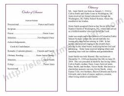 wording for funeral program beautiful obituary template for photos resume ideas