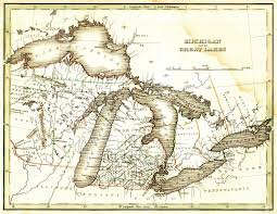New France Map by New France Scrapbook Cynthia U0027s Blog