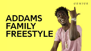 desiigner spits a few bars over the addams family theme song