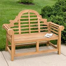 Rustic Wooden Garden Furniture Bench Curved Timber Bench Clifton Curved Seat Woodscape Street
