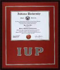 Sorority Picture Frame Lancaster Framing Indiana University Of Pa Iup Diploma Frame