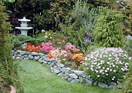 River Rock Garden Bed Coast Journal Sept 6 2001 Gardening
