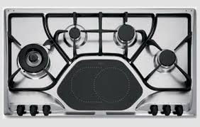 Oven Cooktop Combo Kitchen The Double Down With Franke Operas Combination Cooktop