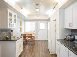 Galley Kitchen Designs With Island Kitchen Cabinets White Cabinets In Kitchen Small Narrow Kitchen