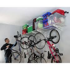 saferacks wall shelf combo kit two 18