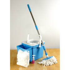 Rubbermaid Mops Walmart by Above Edge Compact Folding Mop Bucket System Spin Mop Walmart Com