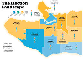 Map Election by Bc Votes 2017 Know The Vancouver Candidates Running In The May