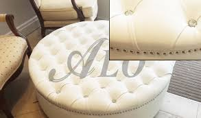 bedroom stunning faux leather modern bed with crystal tufting in