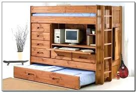 bed and dresser combo loft bed with dresser and desk bunk bed with