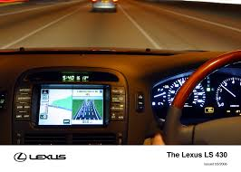 lexus ls430 interior ls archive lexus uk media site