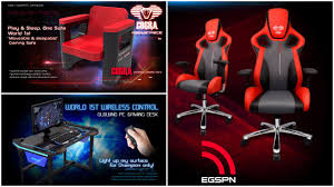 pc gaming desk chair e blue led gaming desk giveaway arammcfly blog