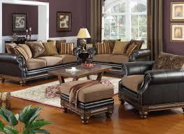 sofa leather fabric mix centerfieldbar com
