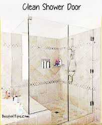 How To Keep Shower Door Clean You That White That Clouds Up Your Glass Shower Doors