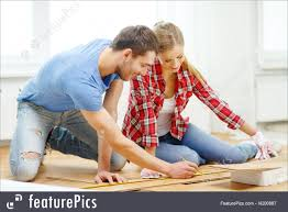 measuring wood flooring stock picture i4200887 at