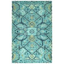 Tufted Area Rug Contemporary Floral Rug Modern Floral Tufted Floral