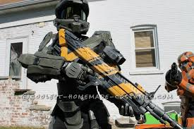 Halloween Costumes Halo 4 Master Chief Costume 12 Boy Completely Scratchbuilt