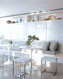 built in kitchen table ideas dining benches and banquettes
