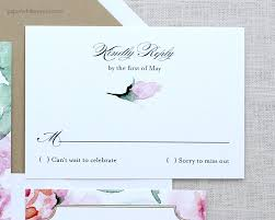 floral watercolor wedding invitations paperwhites wedding