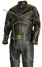 motorcycle leather suit x men 2 united wolverine leather full suit costume