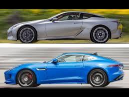 lexus lc f 2018 lexus lc 500 vs 2017 jaguar f type
