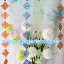 Beaded Home Decor Fashion Chandelier Crystal Acrylic Bead Garland Curtain Wedding
