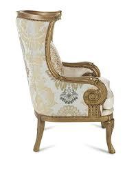 damask chair massoud golden damask chair