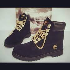 timberland boots black friday black timberlands with gold chain on the hunt