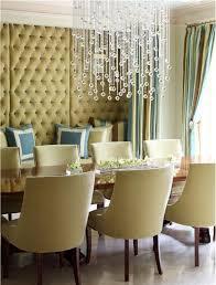 dining room crystal chandelier lighting interior home decorating
