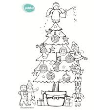 christmas colouring sheets pebblechild