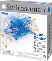 amazon com smithsonian science activities robo spider kit toys