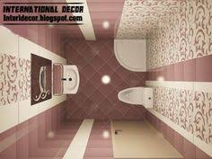 D Tiles Design For Small Bathroom Design Ideas Cream Brown - Bathroom design 3d