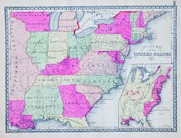Maps Of The Usa Map Of The Usa In 1812 1914
