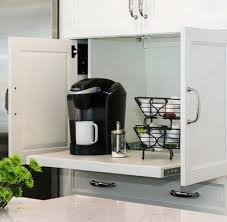 kitchen appliance storage ideas 40 appliance storage ideas for smaller kitchens removeandreplace