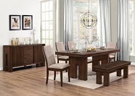 awesome brown dining room furniture equipped square dining table